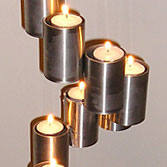 Stainless Steel Candlesticks